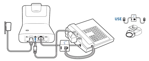 plantronics cs540 with hl10 lifter setup instructions
