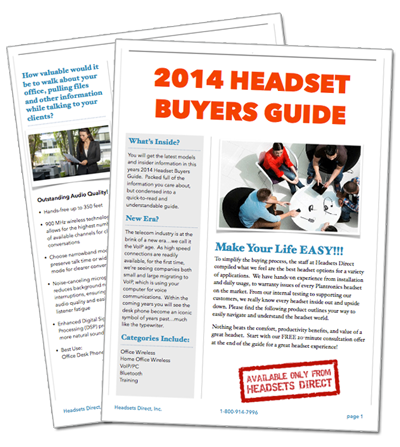 2014 Headset Buyers Guide