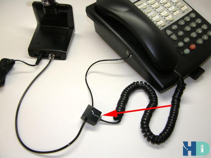 Hook Up Plantronics Headset To Phone