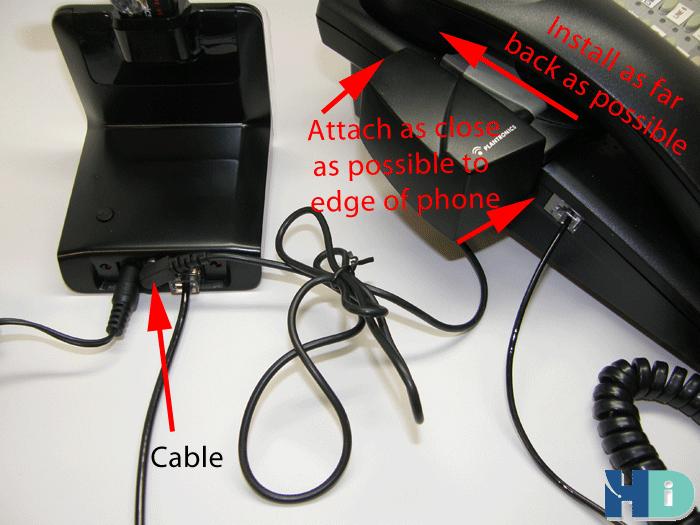 plantronics c054 wireless headset manual