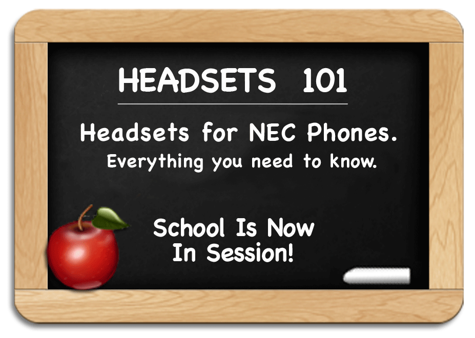 Headsets 101 - NEC Headsets - Everything you need to know