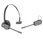 Plantronics CS540 convertible wireless headset wearing style