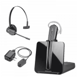 Plantronics CS545-XD Wireless Headset with Accessories
