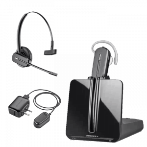 Plantronics CS545-XD Wireless Headset with Accessories