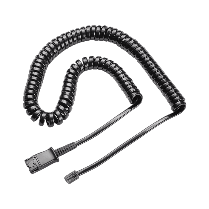 Plantronics U10P Quick Disconnect Headset Cable 27190-01 for H-series Headsets