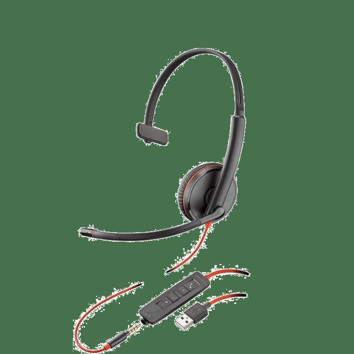 Plantronics Blackwire C3215 USB Headset | Headsets Direct, Inc.
