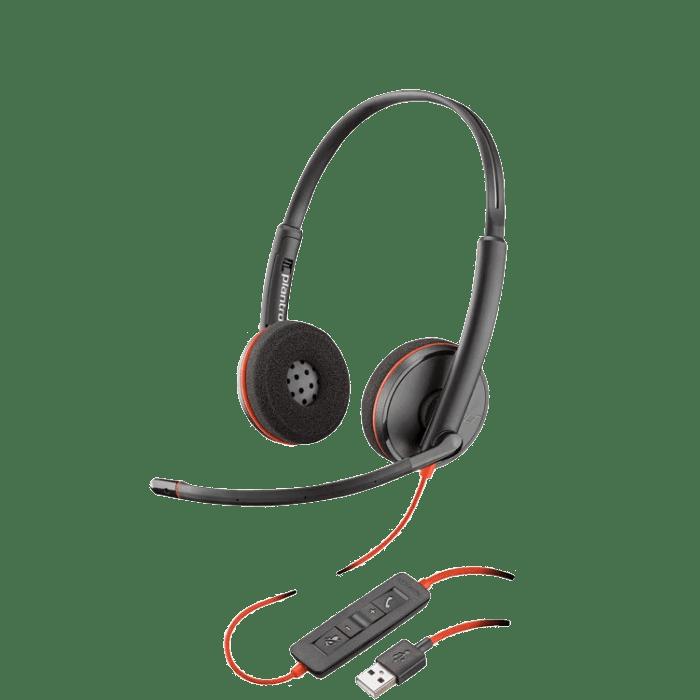 Plantronics Blackwire C3220 Usb Headset Headsets Direct Inc
