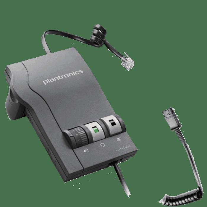 M12 DA Headset Amplifier Modular Adapter Plantronics vista M12