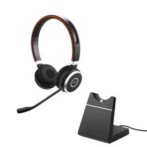 Jabra Evolve 65 Stereo Wireless Computer Headset with Base
