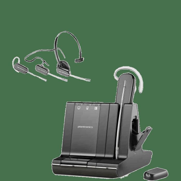 Plantronics Savi W745 Wireless Headset 86507 01 Headsets Direct Inc