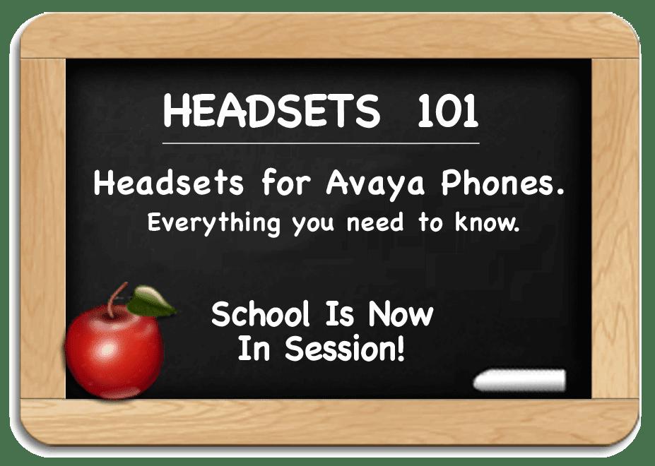 Avaya Headsets - Everything You Need to Know for Avaya