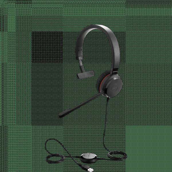 Picture of the Jabra Evolve 30 Mono Headset