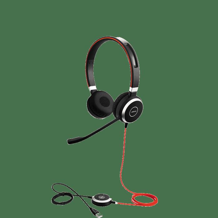 Jabra Evolve 40 Uc Stereo Usb 3 5mm Headset Headsets Direct Inc