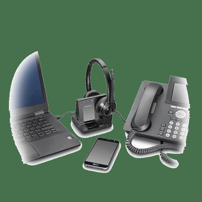 49363fc3fbd ... Plantronics Savi W8220 Wireless DECT Headset. 🔍. Featured Videos