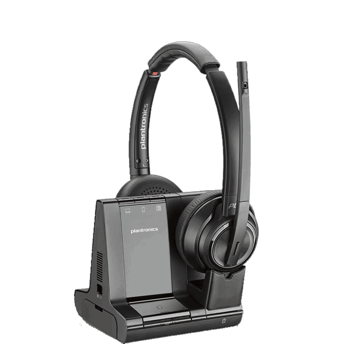 Plantronics Savi W8220 Wireless Dect Headset 207325 01 Headsets Direct Inc