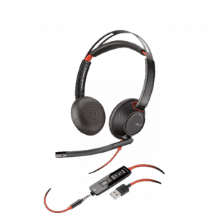 Blackwire C5220 USB Corded Headset with Inline Controls