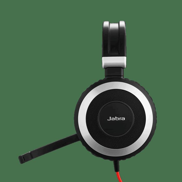 Jabra Evolve 80 Uc Stereo Headset Headsets Direct Inc