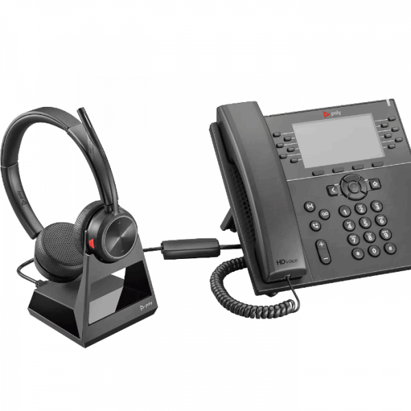 Poly Savi 7220 w/ desk phone
