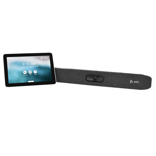 Poly X30 Studio Conferencing with tablet