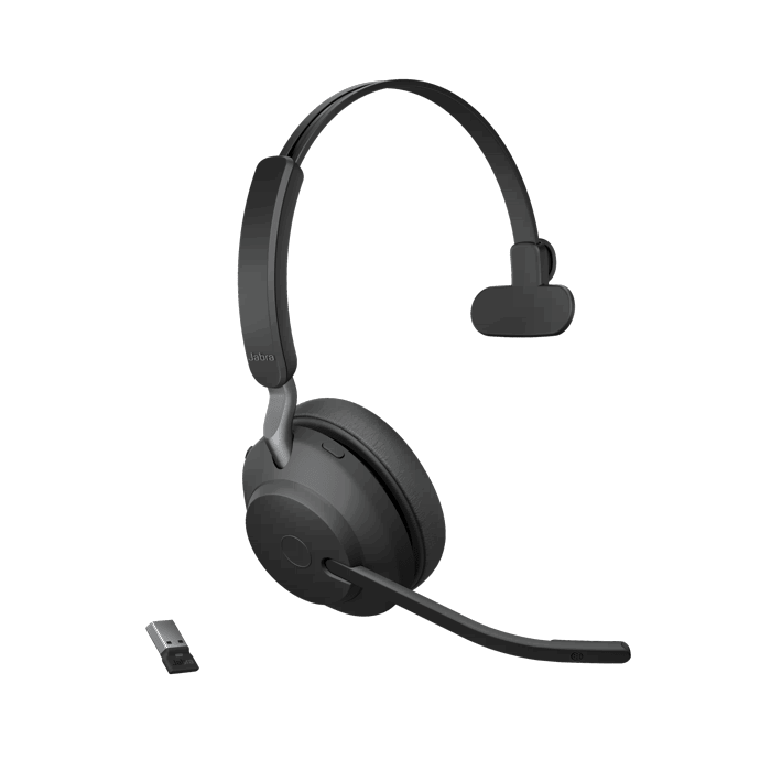 Jabra Evolve2 65 Uc Mono Wireless Headset Headsets Direct Inc