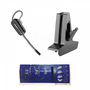 Poly Savi Replacement Headset, stand and accessories. 215800-01