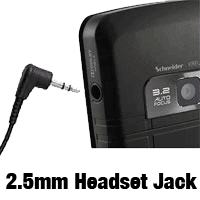 2.5mm Headset for Cordless Phone