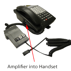Phone with Headset Amplifier