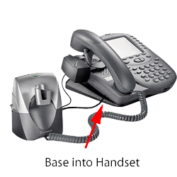 Phone with Headset Lifter