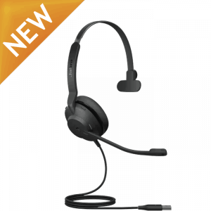 Jabra Evolve2 30 Mono USB Corded Headset