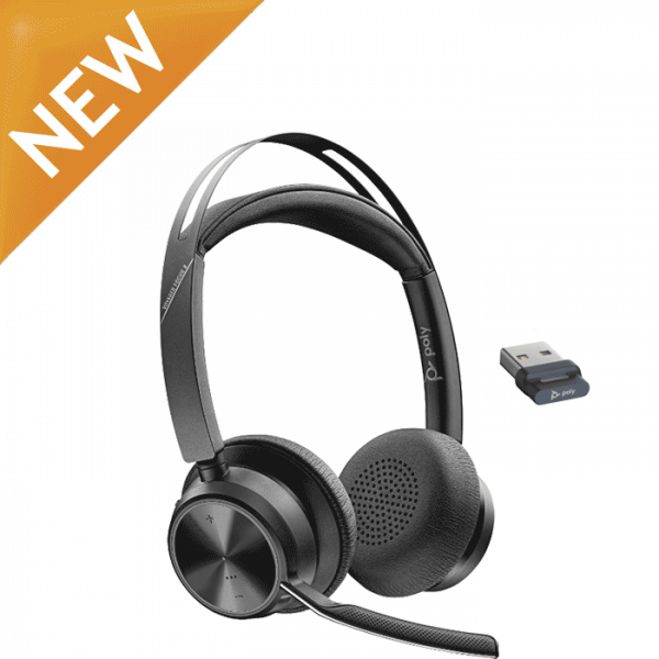Poly Voyager Focus 2 UC Bluetooth Headset