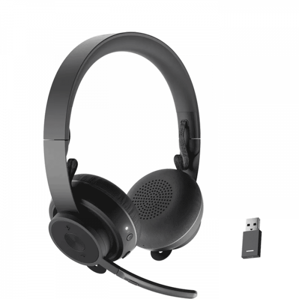 Logitech Zone Wireless Headset w/ Unifying USB adapter