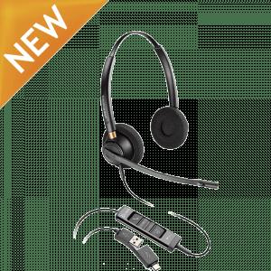 Poly EncorePro EP525 USB Binaural Headset