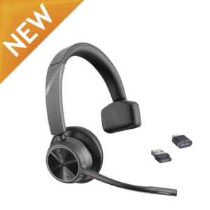 Poly Voyager 4310 UC Bluetooth Headset w/ BT700 Dongle
